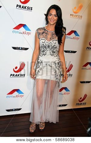 Antoinette Kalaj at the Philhellenes Gala, Skybar, West Hollywood, CA 10-09-13
