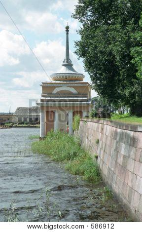 Monastery Nilov. Main Dock