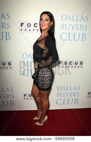 Angelique Cabral at the