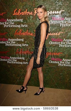 Karolina Kurkova at the Wallis Annenberg Center For The Performing Arts Inaugural Gala, Wallis Annenberg Center For The Performing Arts, Beverly Hills, CA 10-17-13