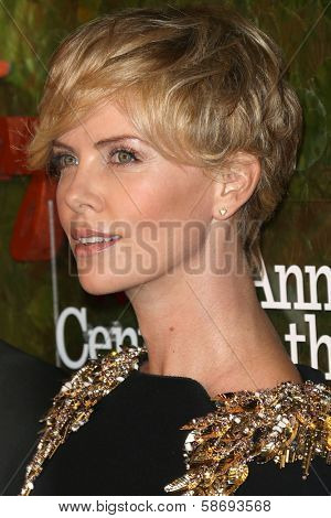 Charlize Theron at the Wallis Annenberg Center For The Performing Arts Inaugural Gala, Wallis Annenberg Center For The Performing Arts, Beverly Hills, CA 10-17-13