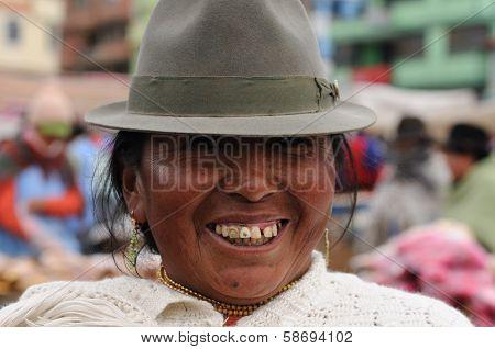 Ecuador, Ethnic Latin Woman