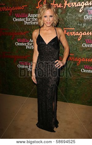 Maria Bello at the Wallis Annenberg Center For The Performing Arts Inaugural Gala, Wallis Annenberg Center For The Performing Arts, Beverly Hills, CA 10-17-13