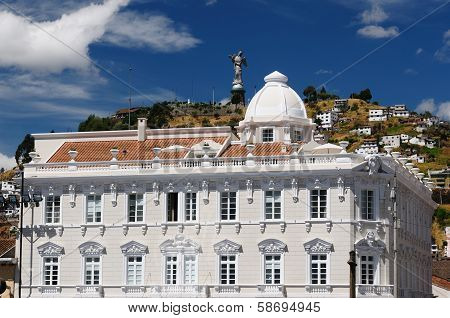 Ecuador, View On The Quito