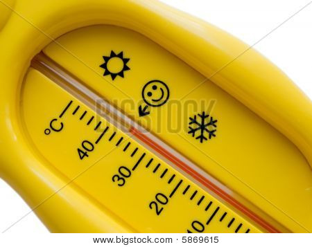 Temperature Thermometer Of Cold Heat Healthcare