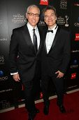 Drew Pinsky and Mehmet Oz at the 40th Annual Daytime Emmy Awards, Beverly Hilton Hotel, Beverly Hill