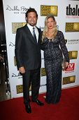 Jeremy Sisto and Addie Lane at the 3rd Annual Critics' Choice Television Awards, Beverly Hilton Hote