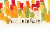 picture of gummy bear  - Gummy Bear series  - JPG