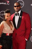 LeBron James and Savannah Brinson at The 2013 ESPY Awards, Nokia Theatre L.A. Live, Los Angeles, CA