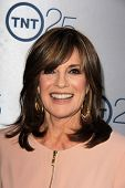 Linda Gray at the TNT 25th Anniversary Party, Beverly Hilton Hotel, Beverly Hills, CA 07-24-13