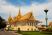 Royal Palace In Phnom Penh, Cambodia