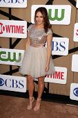 Rebecca Breeds at the CBS, Showtime, CW 2013 TCA Summer Stars Party, Beverly Hilton Hotel, Beverly H