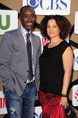 Don Cheadle, Bridgid Coulter Don Cheadle at the CBS, Showtime, CW 2013 TCA Summer Stars Party, Bever