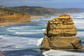foto of 12 apostles  - 12 Apostles on the Great Ocean road in Victoria - JPG