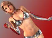 Hot Girls 3D - The Sexiest 3D Virtual Girls Ever poster