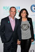 Christopher Meloni and Mariska Hargitay at the Joyful Heart Foundation celebrates the No More PSA La