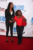 Aisha Tyler and Sheryl Underwood at the CBS Daytime After Dark Event, Comedy Store, West Hollywood,