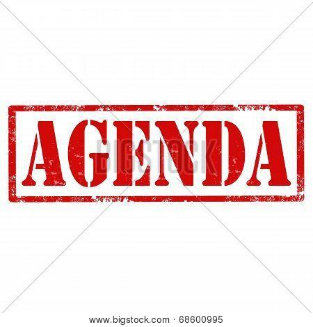 Agenda-stamp