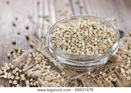 Bowl With Buckwheat