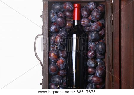 Red Wine And Plums