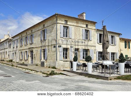 Hotel Napoleon From Aix Island In Charente Maritime