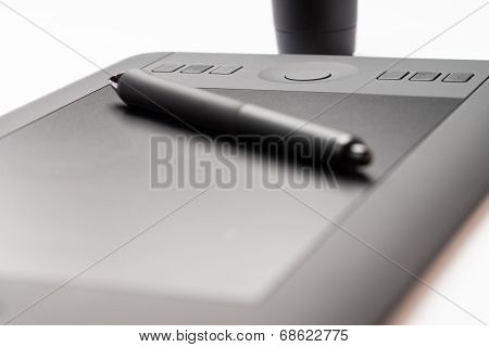 Graphic Tablet Close Up