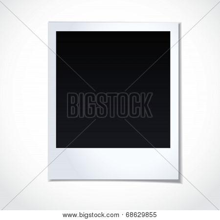 Photoframe on white background