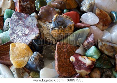 Tumbled Stones Detail