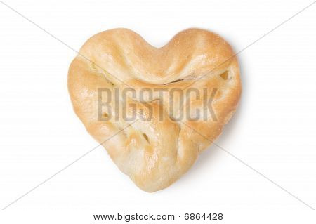 Flat Bread Heart