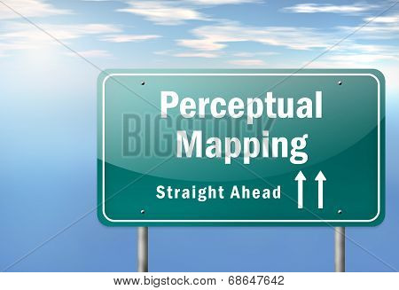 Highway Signpost Perceptual Mapping