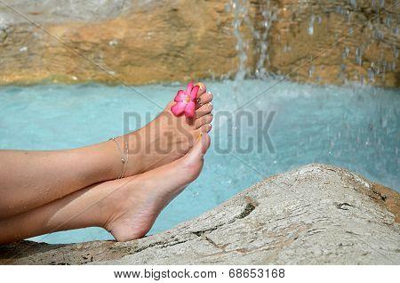 Relaxing Female