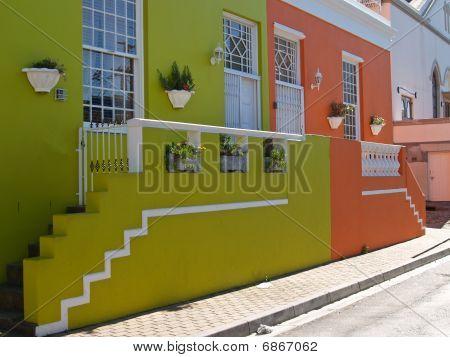 Coloured Homes, Bo Kaap, Cape Town.