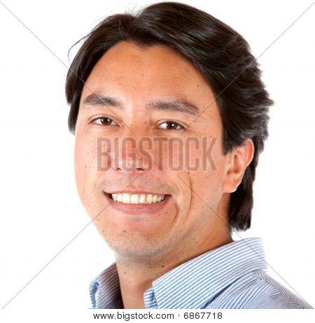 Man Portrait Smiling