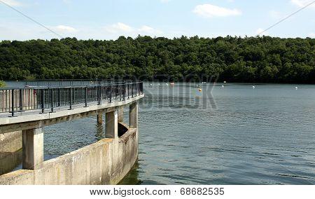 Bridge and reservior