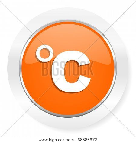 celsius orange computer icon