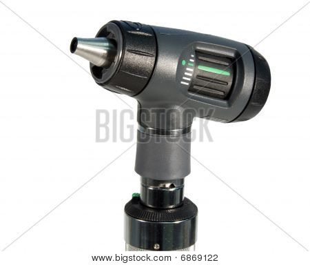 Otoscope Isolated , With Clipping Path