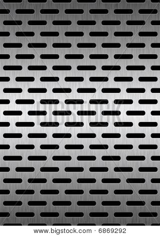 Grill Metal Background