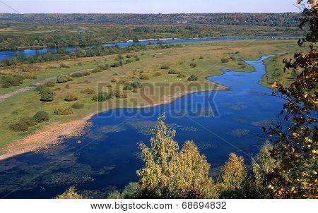 Autumn Near The River