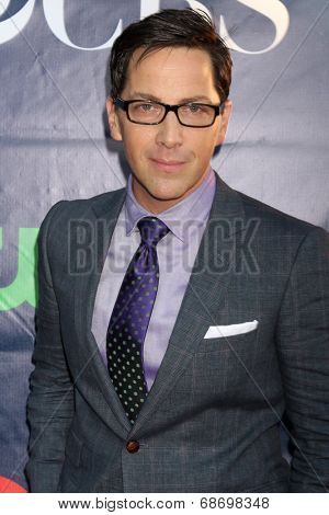 LOS ANGELES - JUL 17:  Dan Bucantinsky at the CBS TCA July 2014 Party at the Pacific Design Center on July 17, 2014 in West Hollywood, CA