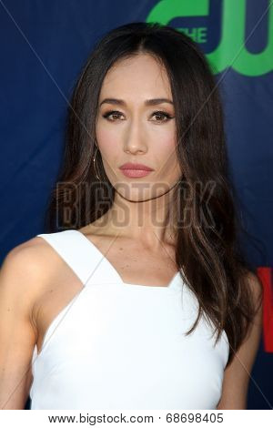 LOS ANGELES - JUL 17:  Maggie Q at the CBS TCA July 2014 Party at the Pacific Design Center on July 17, 2014 in West Hollywood, CA
