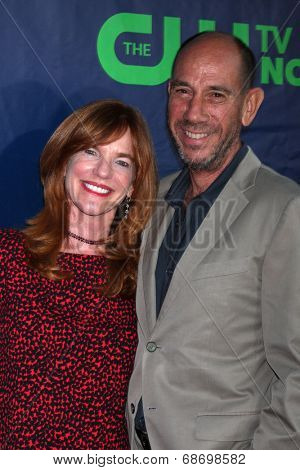 LOS ANGELES - JUL 17:  Miguel Ferrer at the CBS TCA July 2014 Party at the Pacific Design Center on July 17, 2014 in West Hollywood, CA