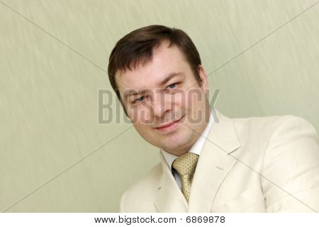 Portrait Of Happy Man