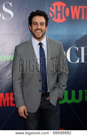 LOS ANGELES - JUL 17:  Adam Korson at the CBS TCA July 2014 Party at the Pacific Design Center on July 17, 2014 in West Hollywood, CA