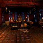 picture of pirate ship  - 3 D Render of an Pirate Captains Cabin - JPG