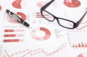 Graphs, Charts, Data Analysis And Summarizing Report poster