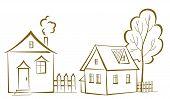 stock photo of tree house  - Cartoon - JPG