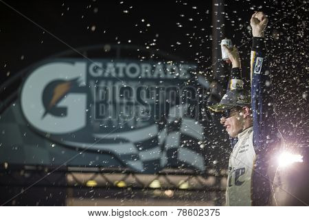 Richmond, VA - Sep 06, 2014:  Brad Keselowski (2) wins the Federated Auto Parts 400 at Richmond International Raceway in Richmond, VA.