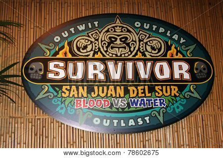 LOS ANGELES - DEC 17:  Survivor San Juan Del Sur Emblem at the