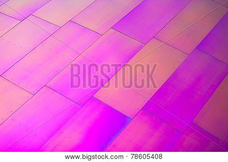 Hot Pink Diagonal Rectangular Shapes