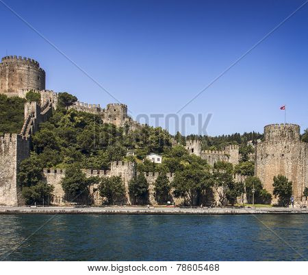 Rumeli Fortress View, Istanbul, Turkey